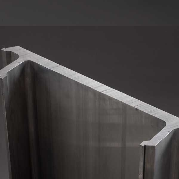 Extrusion Anodizing Aluminium Sheet Profile
