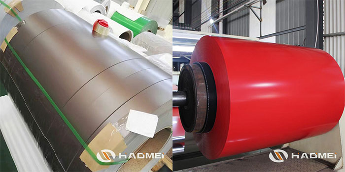 color coated aluminium sheet